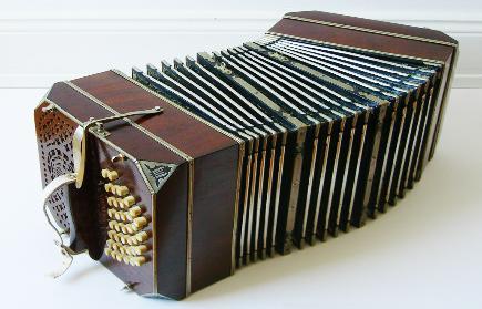 The bandoneon essential instrument in most tango ensembles